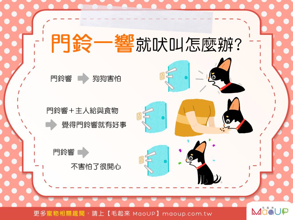 【家有乖狗狗】門鈴一響汪汪叫?用零食讓狗狗愛上鈴響!