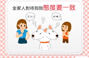 【家有乖狗狗】教好狗狗有辦法!全家人對待狗狗態度要一致!