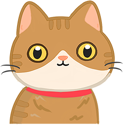 貓貓眼睛中等代表內心平靜