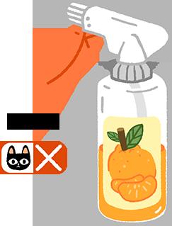 貓不能用柑橘類精油