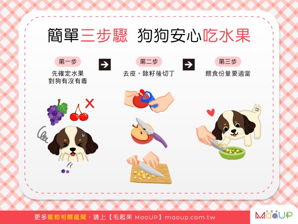 【汪汪水果開心吃】簡單3步驟~狗狗安心吃果果