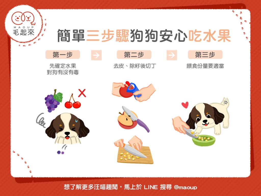 【鮮食烹飪秘訣】簡單 3 步驟~狗狗安心吃水果