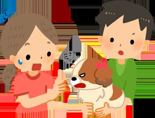 把狗狗抱在身上時,會想咬靠近的人