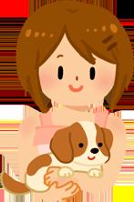 小型犬與中型犬的抱法