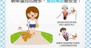 【汪汪出門趣】習慣騎車遛狗嗎?「腳踏實地」才安全喔!