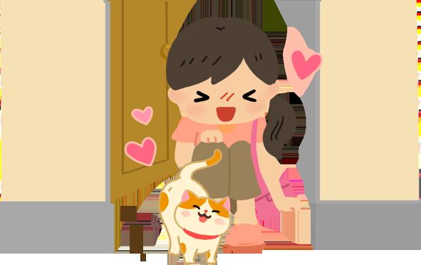 【喵喵真心話】一回到家貓貓就來蹭蹭蹭…這是歡迎的表現吧?