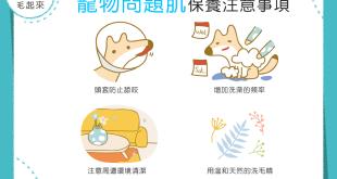 【汪喵康健】狗狗貓貓的問題肌找上門?!4大保養方式幫幫你!