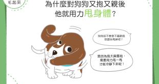 【汪汪真心話】嗚嗚…對狗狗親親抱抱,狗狗卻用力甩身體?!