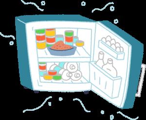 食物冰涼可促進食慾