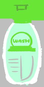 含酒精洗手液