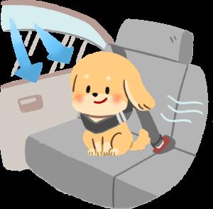 保持車內空氣對流預防狗狗暈車