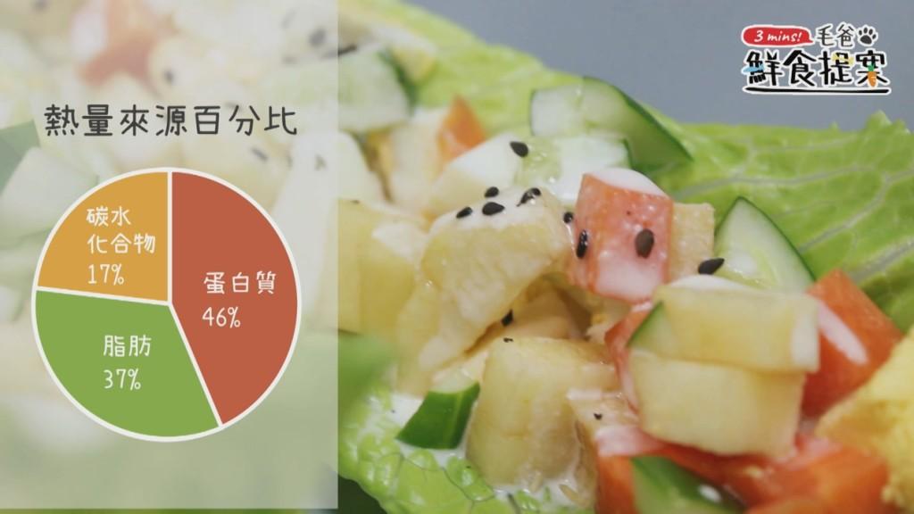 【毛爸鮮食提案】滿載酸甜好心情~嫩雞彩蔬沙拉船
