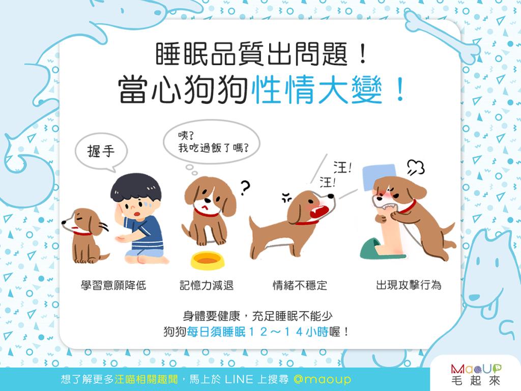 【汪汪康健】狗狗老是沒睡好?當心狗狗性情大變!