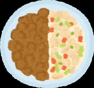 第2週鮮食佔1/2,原本的食物佔1/2