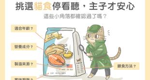 【毛孩食品解析】挑選貓食停看聽,這些小角落都確認過了嗎?