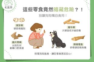 【汪喵餵養知識】這些零食竟然暗藏危機?!別讓狗狗獨自食用