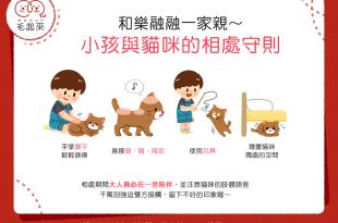 【喵喵家居】和樂融融一家親~小孩與貓咪的4個相處守則!