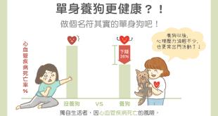 單身人口獨居者養狗好處多更健康降低心血管疾病死亡率