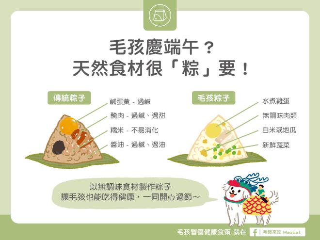 狗狗貓咪吃量身打造專屬粽子一起慶祝端午節