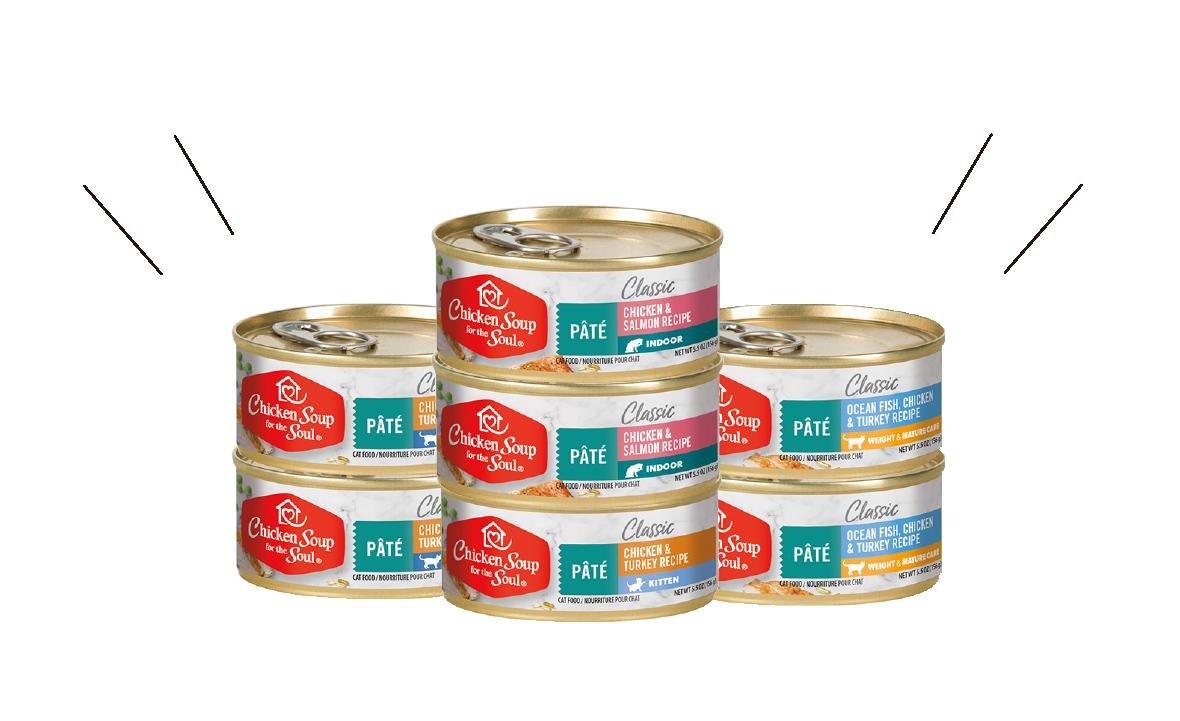 心靈雞湯ChickenSoup四種鮮肉天然糧主食貓罐