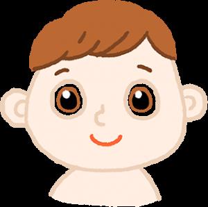 嬰兒的臉龐