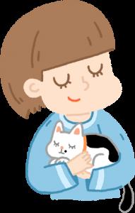 貓咪幫助人類舒壓