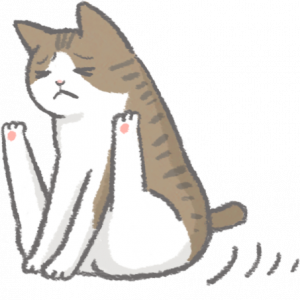 貓舔屁股、屁股磨地板可能是肛門腺發炎