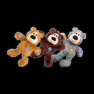 繩結補丁熊寵物玩具